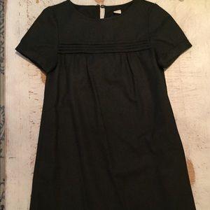 J. Crew Charcoal Wool Dress